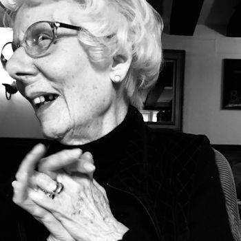Margot Neill OBE on her 101st birthday