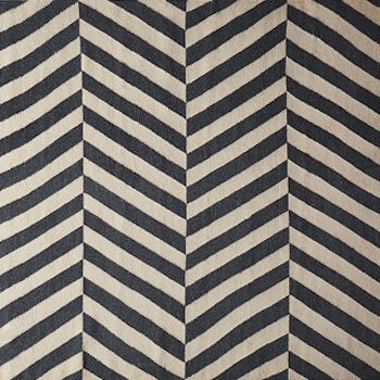 Swoon Editions Jay Large Rug, black and white, interiors