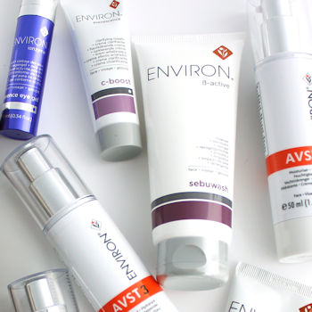 Environ skin care for sensitive skin. Vitamin A