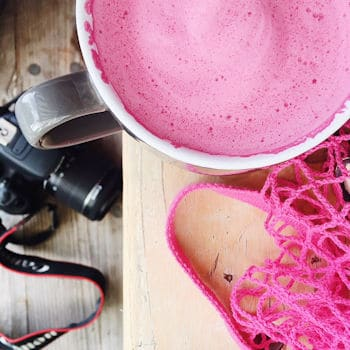 Do you want to try a Beetroot Latte?