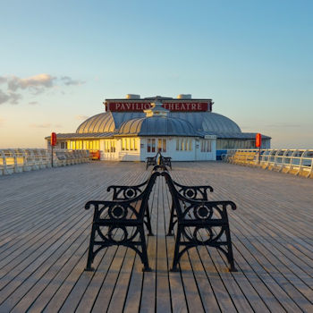 The pier at Cromer, north Norfolk