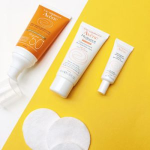 Avene Eau Thermale, beauty products for sensitive skin. Hydrance Optimale Rich hydrating cream.