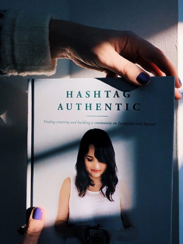 Hashtag Authentic by Sara Tasker, a book review by Helen Perry @notaboutthekids